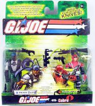 G.I.Joe vs. Cobra - 2004 - Heavy Duty & Razorclaw