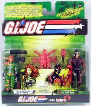 G.I.Joe vs. Cobra - 2004 - Scarlett & Sand Scorpion