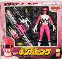 Gingaman - Figurine Bandai - Ginga Pink