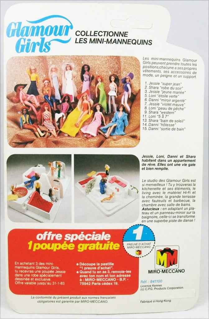 "Glamour Girls - Mini-Mannequins - Jessie \""Jeune Mariée\"""