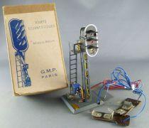 GMP Paris O Gauge Boxed Metal Track Signal 3 Lights 3 Bulbs