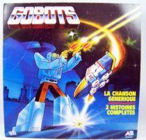 Gobots Générique + 2 Histoires racontées - Disque 33Tours - AB Prod. 1985