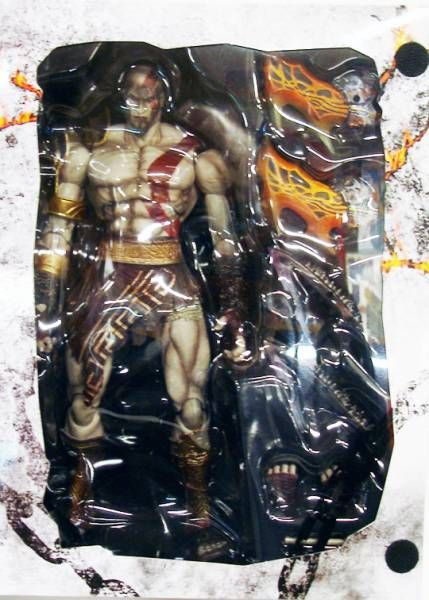 God of War - Kratos - Figurine Play Arts Kai - Square Enix