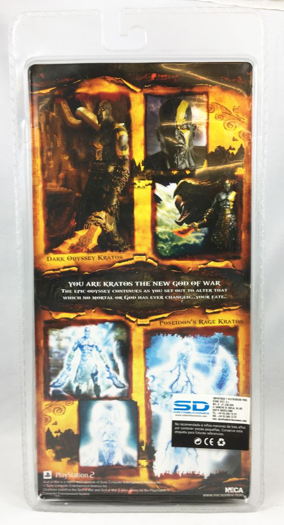 God of War - Kratos Dark Odyssey (with Blades of Athena) - NECA Player Select figure