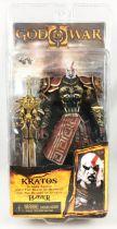 God of War - Kratos en Armure d\'Arès (visage furieux) - Figurine Player Select NECA