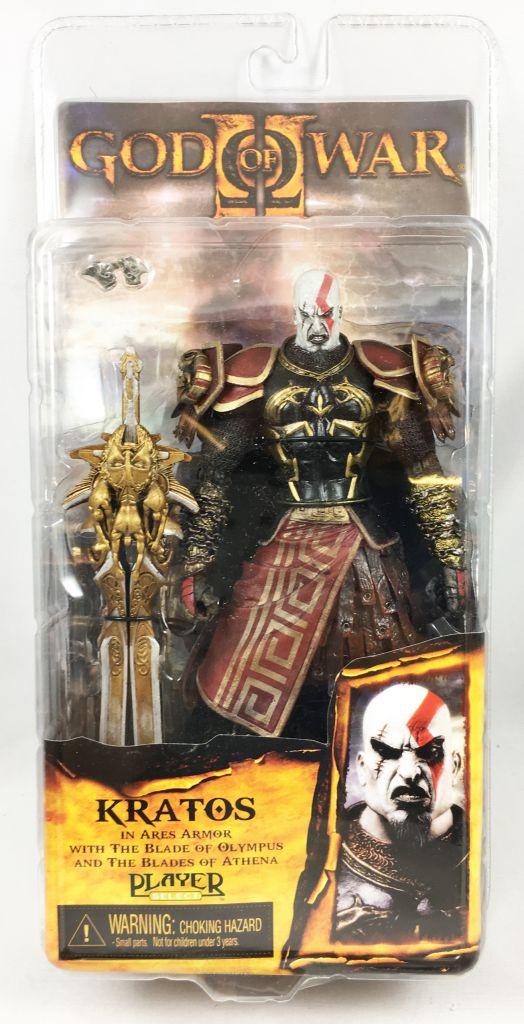 God of War - Kratos in Ares Armor (furious face) - NECA Player Select figure