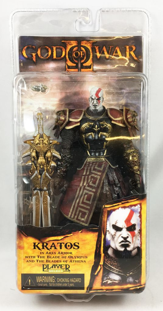 God of War - Kratos in Ares Armor (serious face) - NECA Player Select figure