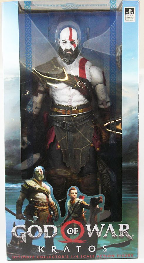 "God of War (2018) - Kratos - Figurine 50cm ""quarter scale\"" NECA"
