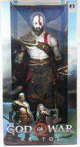 """God of War (2018) - Kratos - Figurine 50cm \""""quarter scale\"""" NECA"""