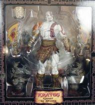 "God of War III - Kratos Ghost of Sparta - Figurine NECA \""Ultimate Edition\"""