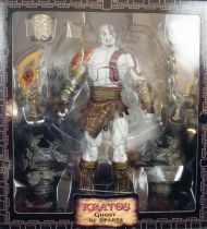 God of War III - Kratos Ghost of Sparta - NECA Ultimate Edition action-figure