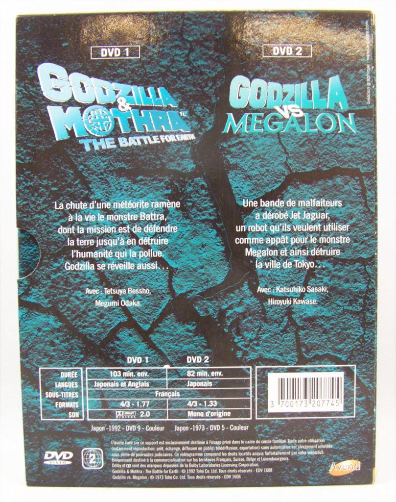 Godzilla - Double DVD Set - Godzilla and Mothra : the battle for earth / Godzilla vs. Megalon