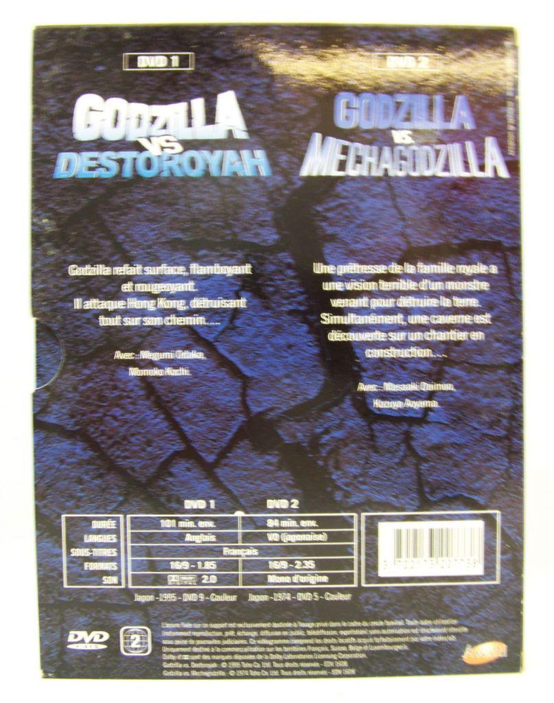 Godzilla - Double DVD Set - Godzilla vs. Destoroyah / Godzilla vs. Mechagodzilla