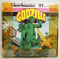 Godzilla - Set of 3 discs View Master 3-D
