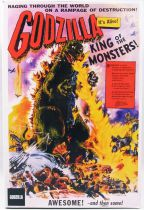 "Godzilla King of the Monsters (1956) - NECA - 7\'\' action-figure ""US Movie Poster\"" version"
