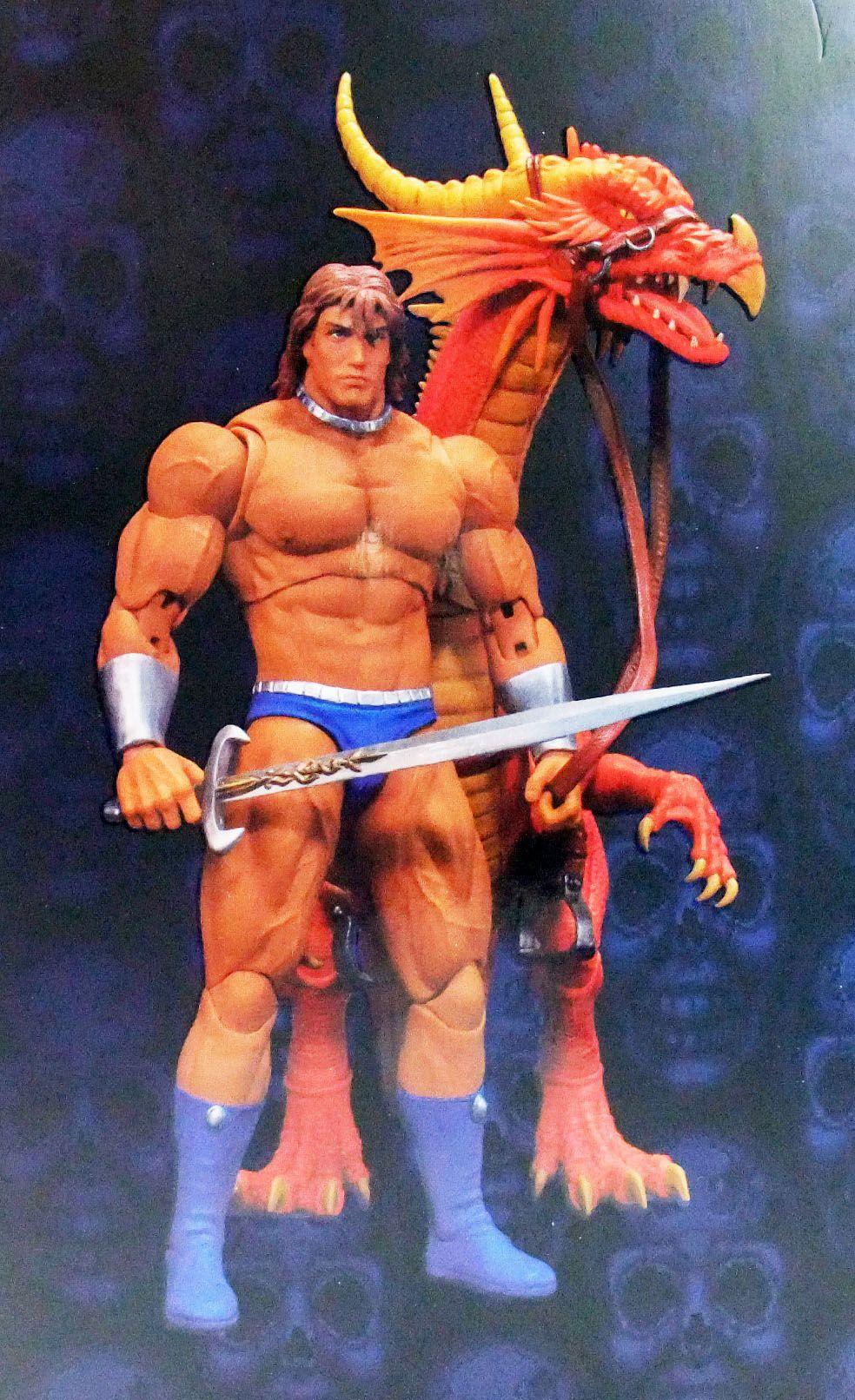 Golden Axe - Storm Collectibles - Ax Battler 1:12 scale figure