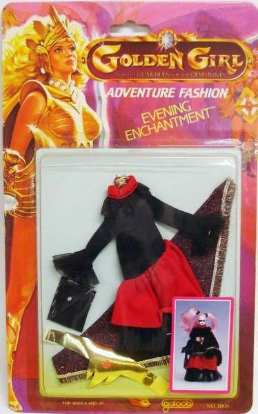 Golden Girl - Dragon Queen - Evening Enchantment Fashion (Galoob USA)