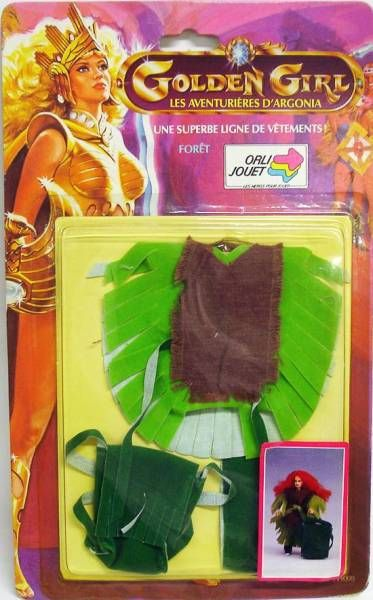 Golden Girl - Jade - Forest Fantasy Fashion (Orli-Jouet France)
