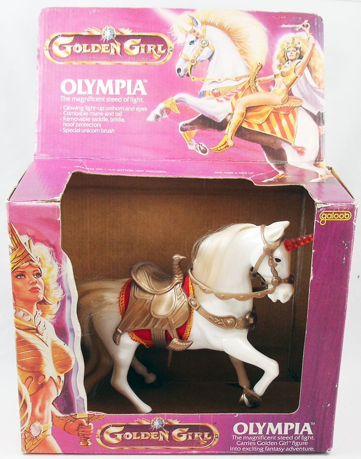 Golden Girl - Olympia (loose with Galoob box)