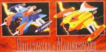 Goldorak - Bandai Soul of Chogokin - Vénusiak & Fossoirak GX-04X