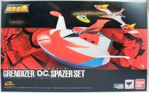 Goldorak - Bandai Soul of Chogokin GX-76X - Grendizer Dynamic Classics Spazer Set (Soucoupe, Alcorak, Oveterre))