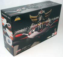 Goldorak - Bandai Super Robot Chogokin - Grendizer & Spazer set Kurogane Finish