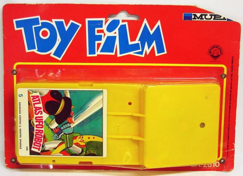 Goldorak - Cassette pour projecteur Super 8 Mupi Goldorak n°5
