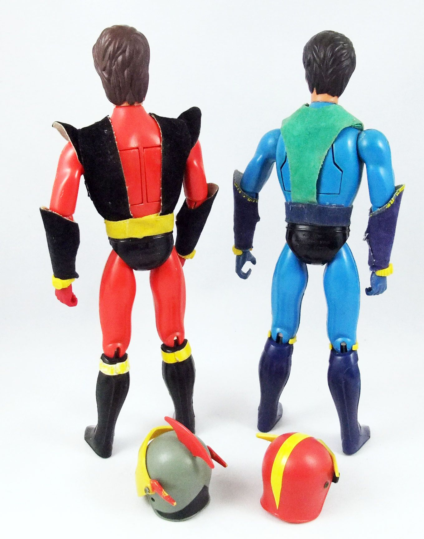 Goldorak - Ceji Arbois - Actarus & Alcor (Duke Fleed & Koji Kabuto) - Figurines articulées 20cm (loose)