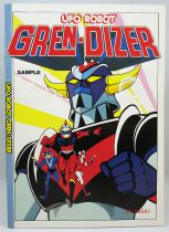 Goldorak - Comic Book pamplet promotionnel UFO Robot Gren-Dizer Go Nagai - Kodansha Publishing 1980