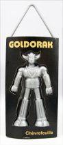 """Goldorak - Désodorisant pour voiture - Modèle Noir \""""Chèvrefeuille\"""" - Toei Dynamic Pictural Antenne 2 1978"""