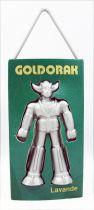 """Goldorak - Désodorisant pour voiture - Modèle Vert \""""Lavande\"""" - Toei Dynamic Pictural Antenne 2 1978"""