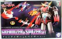 Goldorak - Dynamite Action No.44 EX- Grendizer & Spazer set : La Patrouille des Aigles - Evolution Toy