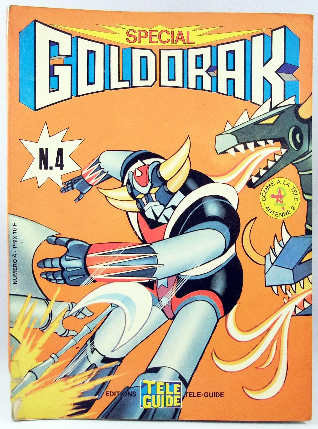 Goldorak - Editions Télé-Guide - Goldorak Special n°04
