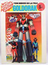 """Goldorak - Editions Télé-Guide - Super Poster n°1 \""""Les Amis de Goldorak\"""""""