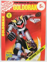 "Goldorak - Editions Télé-Guide - Super Poster n°2 ""Goldorak contre Golgoth 2004\"""