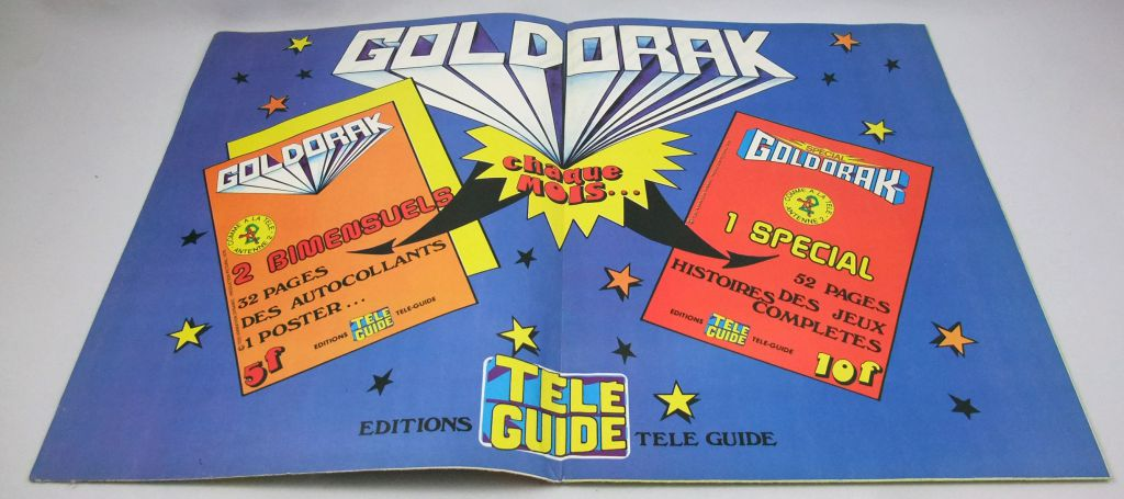 "Goldorak - Editions Télé-Guide - Super Poster n°2 \""Goldorak contre Golgoth 2004\"""