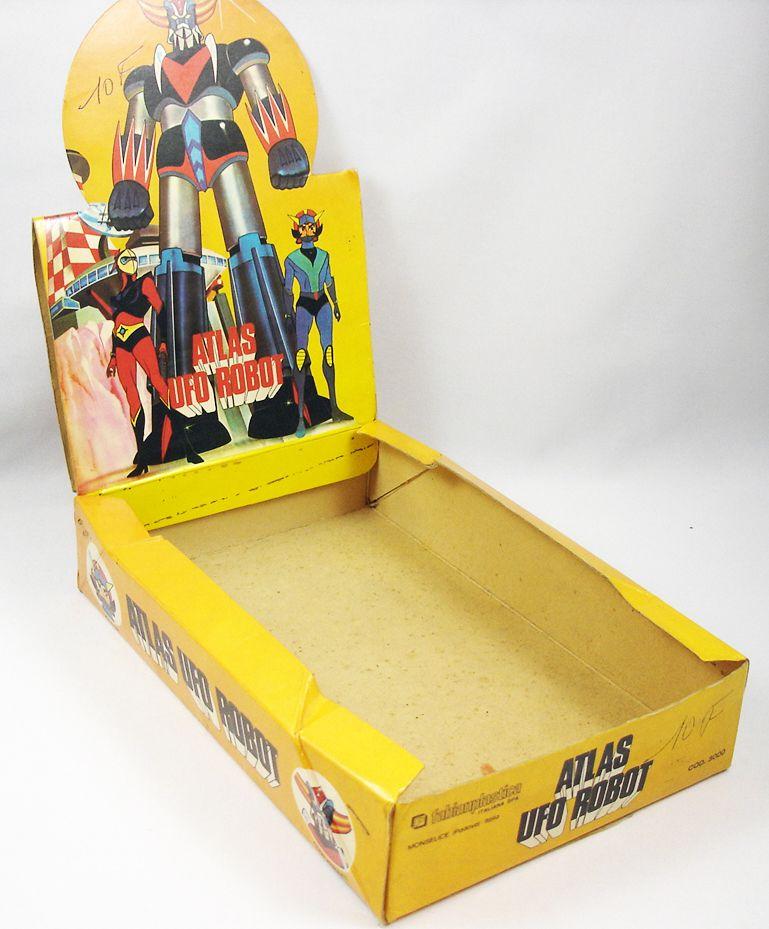 Goldorak - Fabianplastica - Boite présentoir de magasin pour figurines pvc