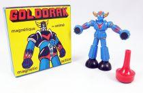 Goldorak - Figurine magnétique Magneto n°3136 - Goldorak (coloris bleu mat)
