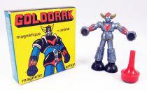 Goldorak - Figurine magnétique Magneto n°3136 - Goldorak (coloris bleu métal)