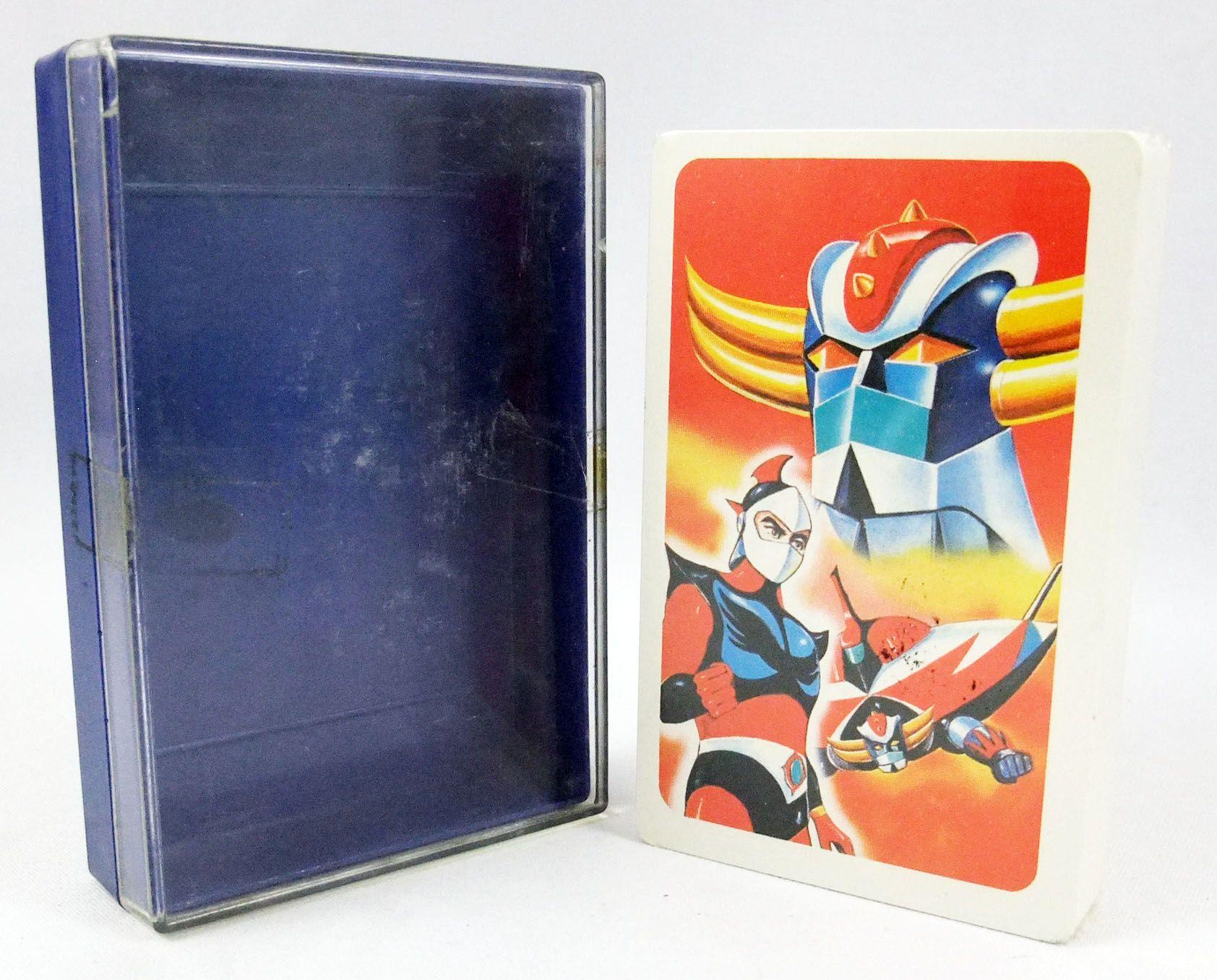 Goldorak - Jeu de cartes à jouer (neuf en boite) - Toei Doga Japon 1976