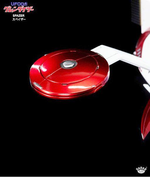 Goldorak - King Arts KSS015 - Soucoupe Porteuse de Goldorak - Vaisseau avec système lumineux