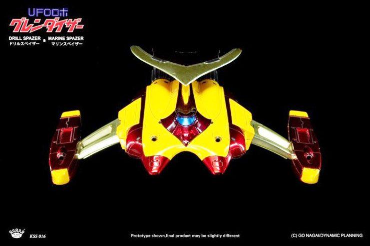 Goldorak - King Arts KSS016 - Venusiak & Fossoirak - Vaisseaux avec système lumineux