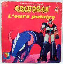 """Goldorak - Livre-Disque 45Tours \""""L\'Ours Polaire\"""" - Saban Records 1982"""