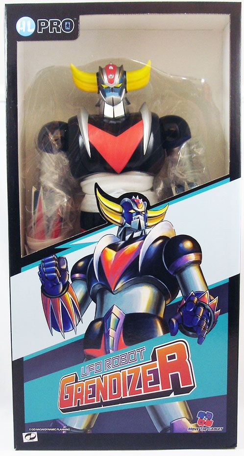 "Goldorak - Marmit - Figurine vinyl 40cm ""Anime Metal Color\"" - HL Pro"