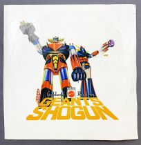 Goldorak - Mattel Shogun Warriors - Autocollant Promotionnel (version ronde) 1979