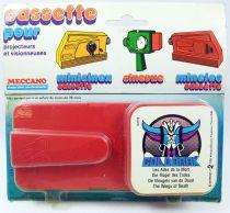 Goldorak - Meccano - Cassette pour projecteur Minicinex Goldorak \'\'Les Ailes de la Mort\'\'