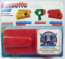 Goldorak - Meccano - Cassette pour projecteur Minicinex Goldorak \'\'Les Soucoupes de l\'infini\'\'