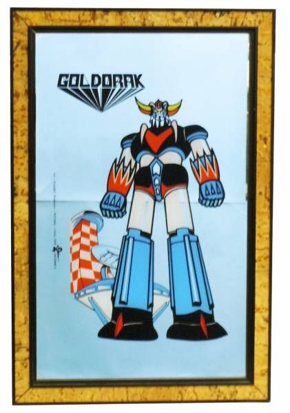 Goldorak - Miroir Imprimé 29x44cm 1978