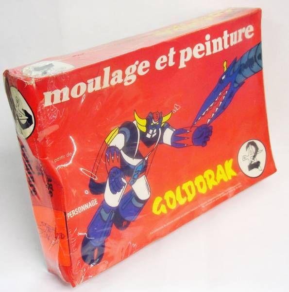 Goldorak - O.P.M. France - Jeu de moulage et peinture Actarus