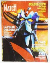 Goldorak - Paris-Match 19 janvier 1979 \'\'La Folie Goldorak\'\'